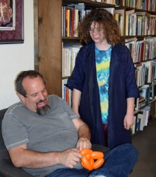 Allie and her dad Lowell were a huge hit making balloon creatures. Thanks!