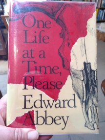 One Life at a Time Please (1st Edition, VG+) essays