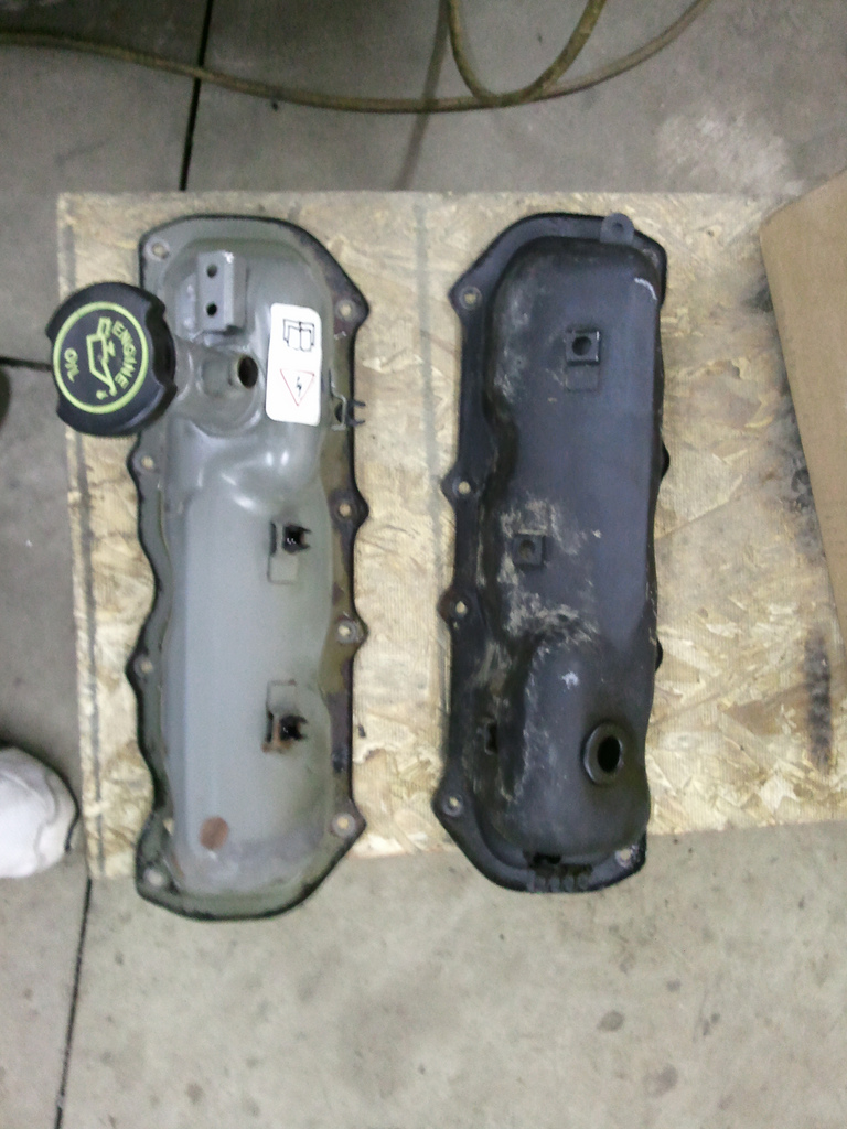 medium resolution of cleaned valve covers i can t believe how well the passenger side one turned out it was all stock