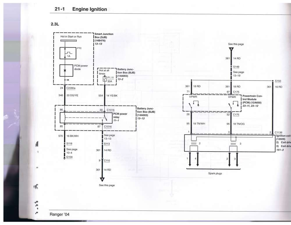 medium resolution of 2004 2006 2 3 wiring diagram huge pics ranger forums the 2004 ford ranger starter wiring diagram ford ranger wiring diagram 2004
