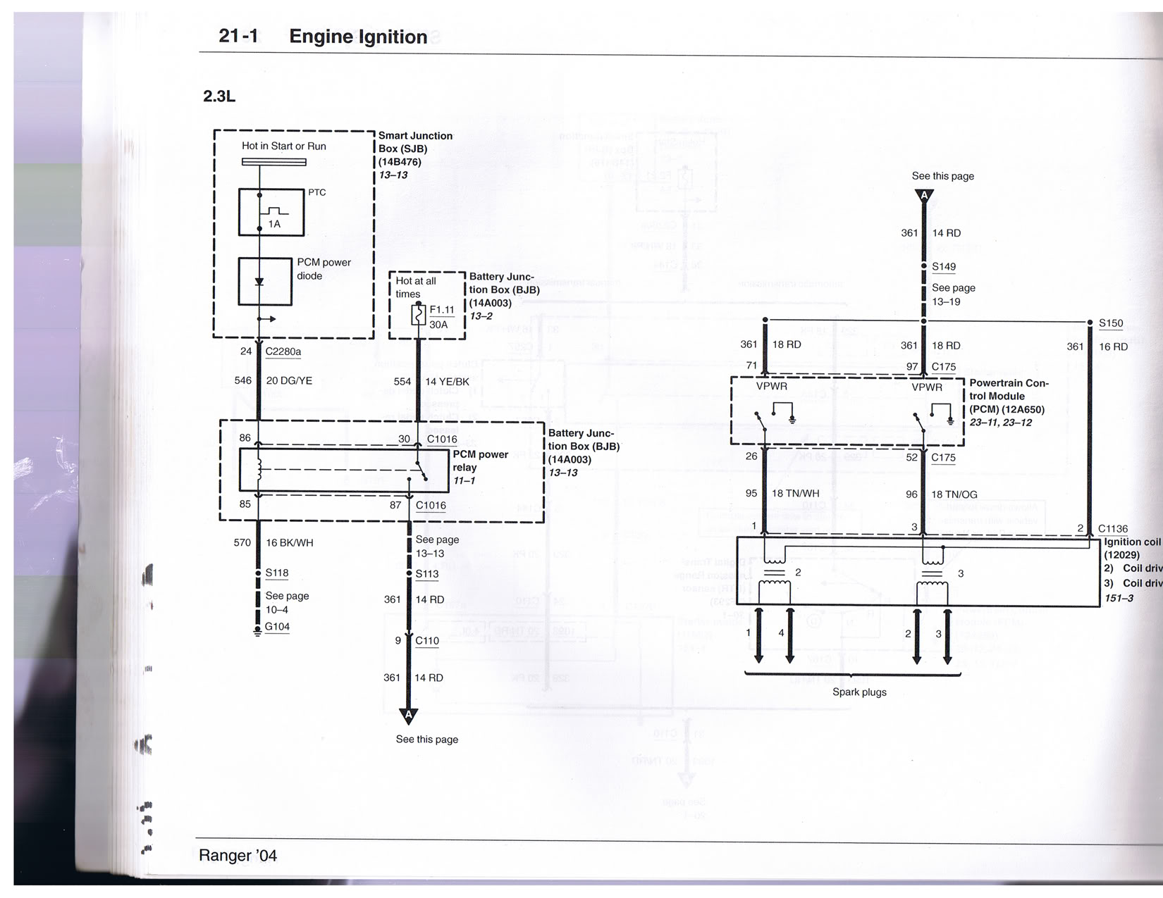 hight resolution of 2004 2006 2 3 wiring diagram huge pics ranger forums the 95 ford ranger wiring diagram 06 ranger wiring diagram