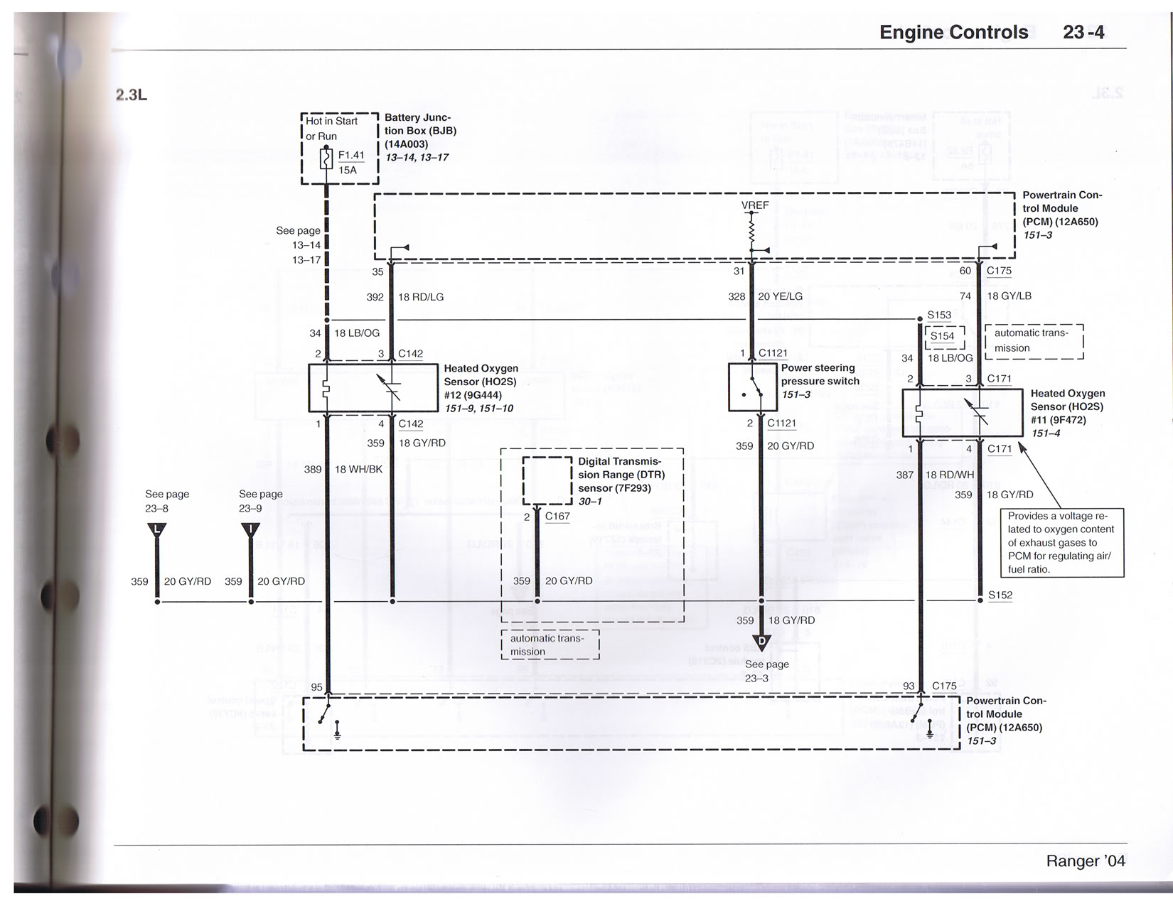 Ford Ranger 2 3 Wiring Diagram