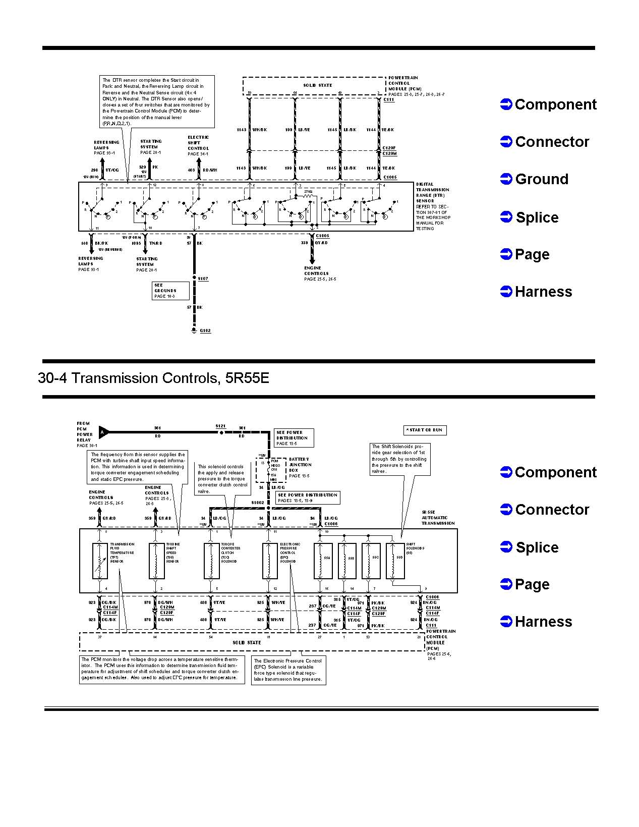 hight resolution of  151481d1501380298 transmission wiring 5r55ewiring page 2 transmission wiring ranger forums the ultimate ford ranger 5r55e wiring diagram at