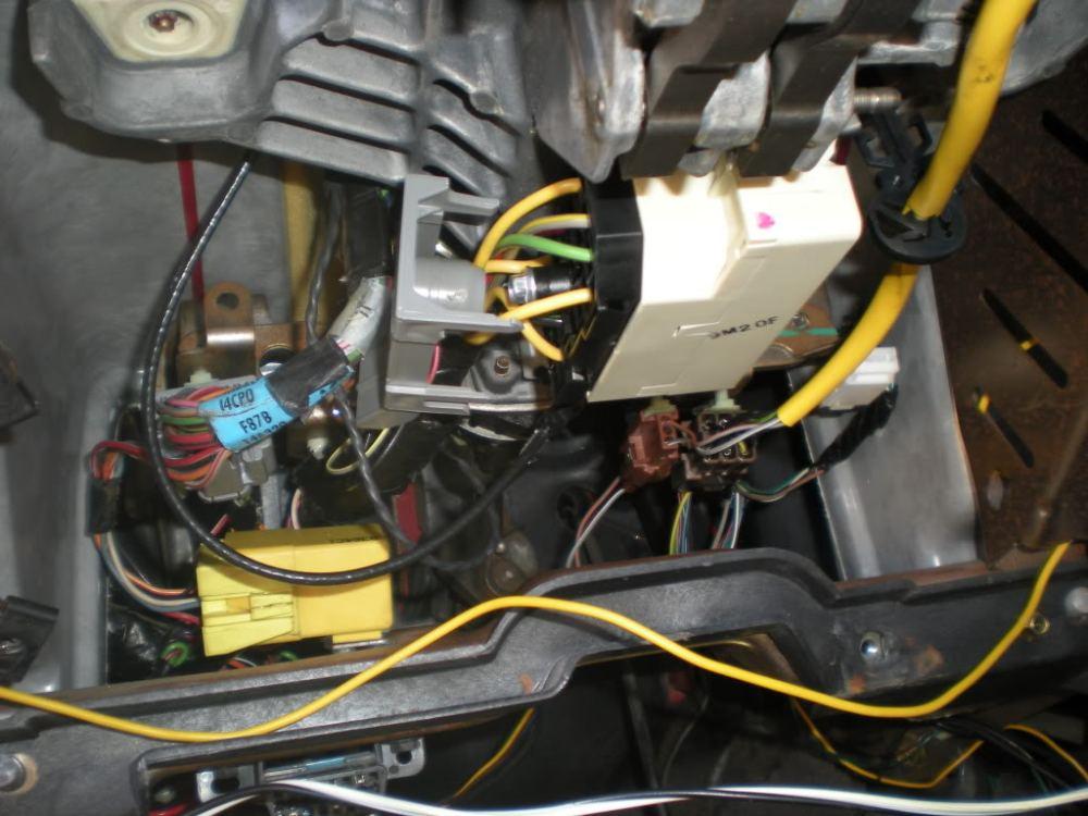 medium resolution of how to adding tilt steering column w new clockspring fromname dscn3260 jpg views 4761 size