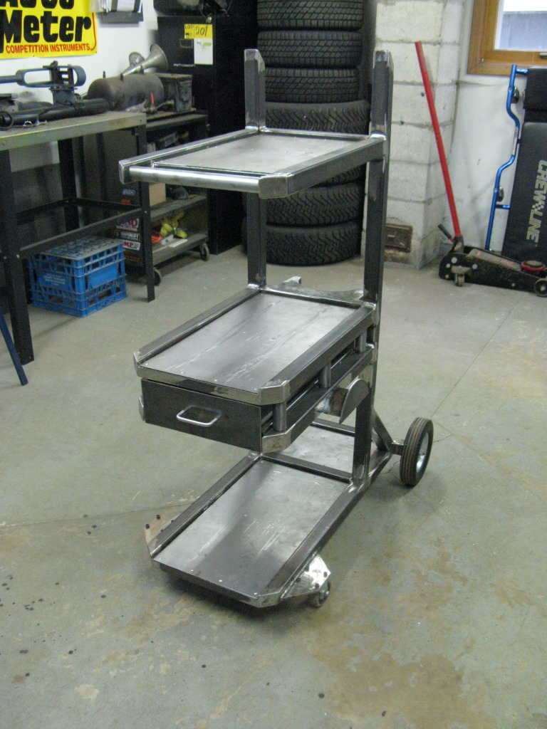 Welding Cart Project  Now complete pics on page 5
