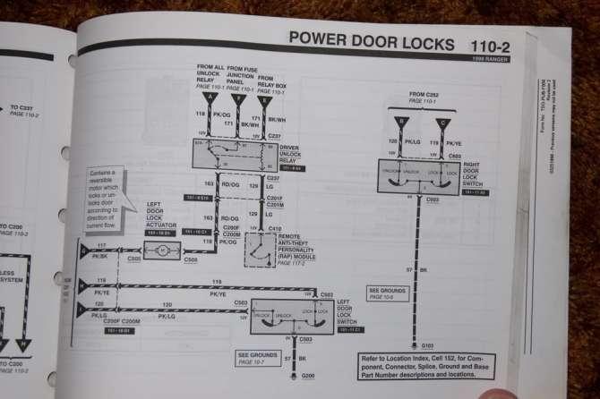 wiring power door locks help needed  rangerforums  the