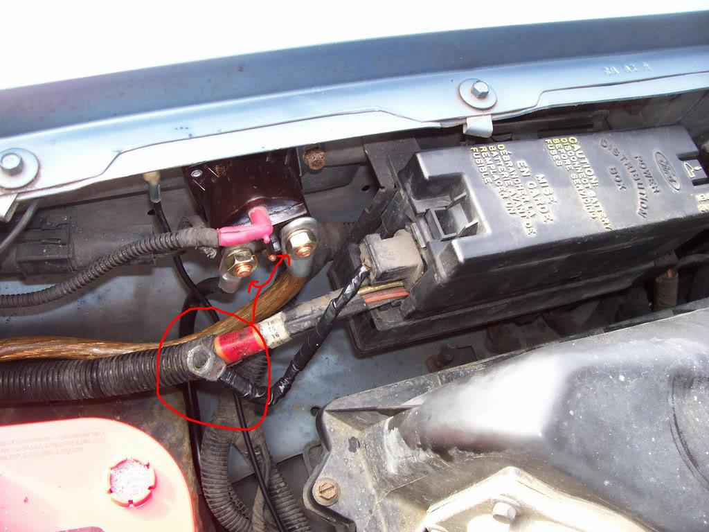Relay Location Ford Ranger Starter Solenoid Wiring 1995 Ford Ranger