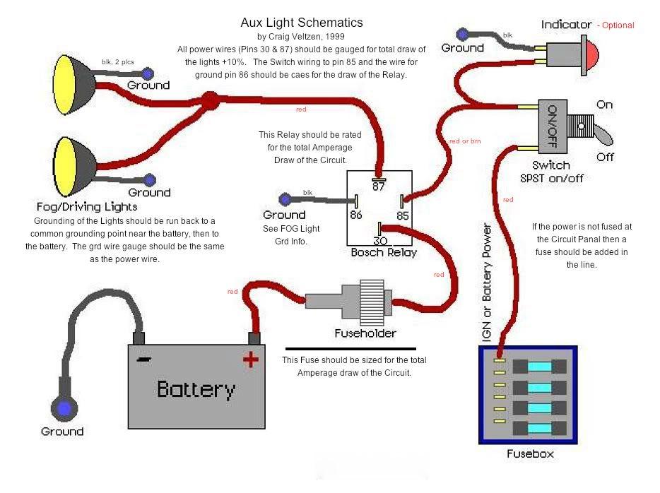 Spotlight Wiring Diagram 4 Pin Relay - Somurich.com