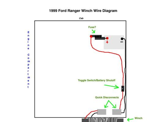 small resolution of winch wiring