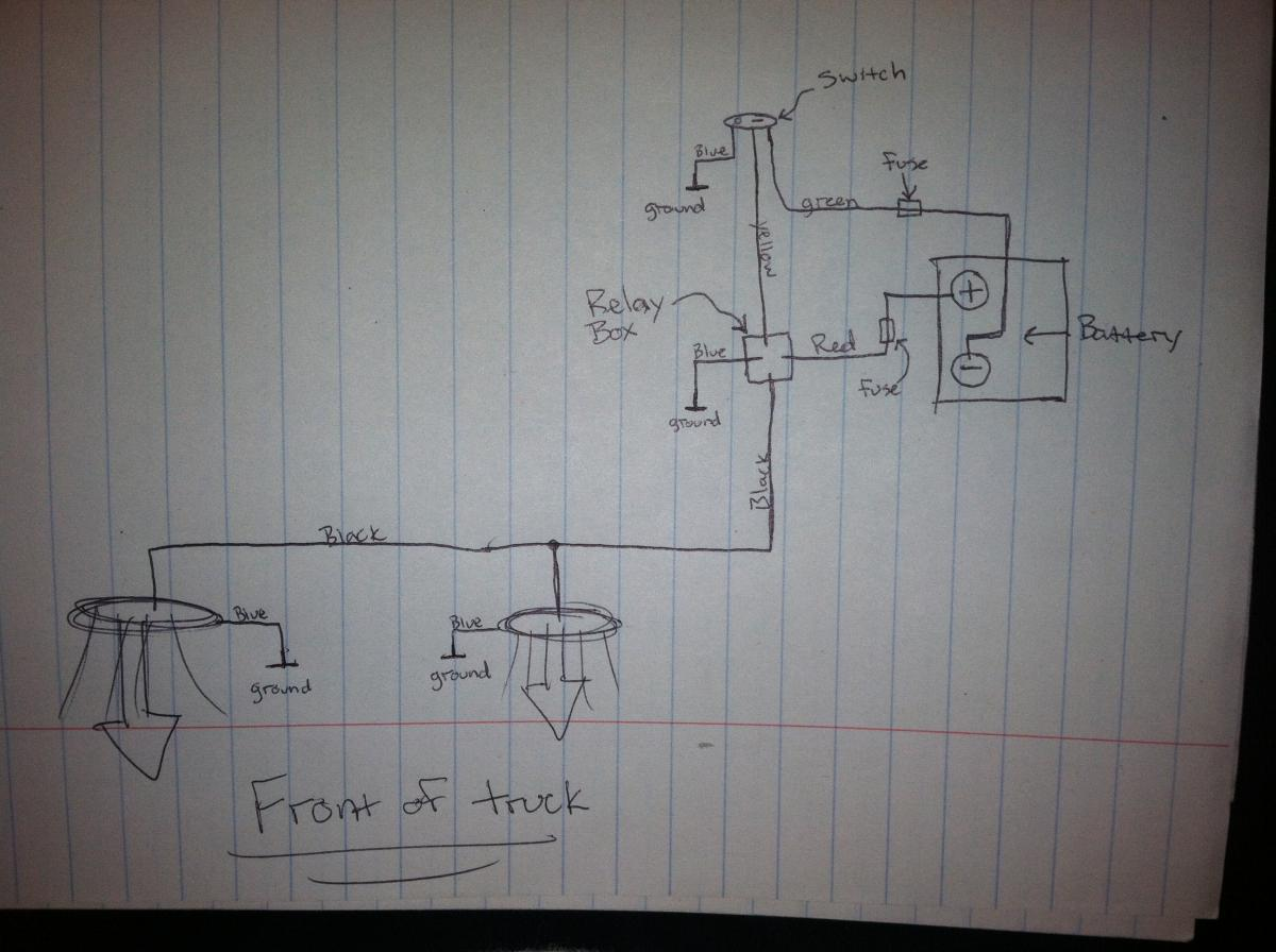 Hid Off Road Light Wiring Diagram Get Free Image About Wiring