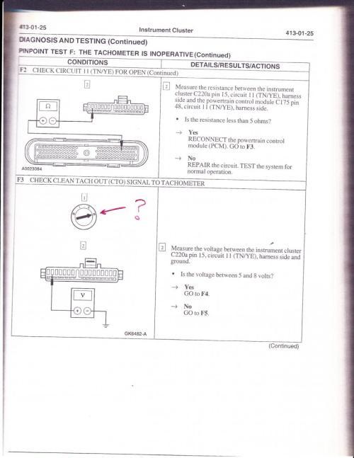 small resolution of tach problem 2001 ranger 3 0 tach 3 jpg