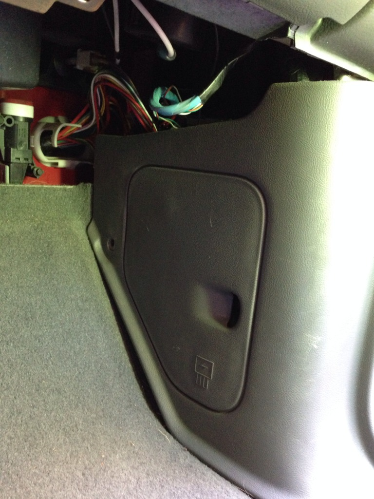 Taurus Fuse Panel Diagram How To Install Factory Glovebox Lighting Ranger Forums