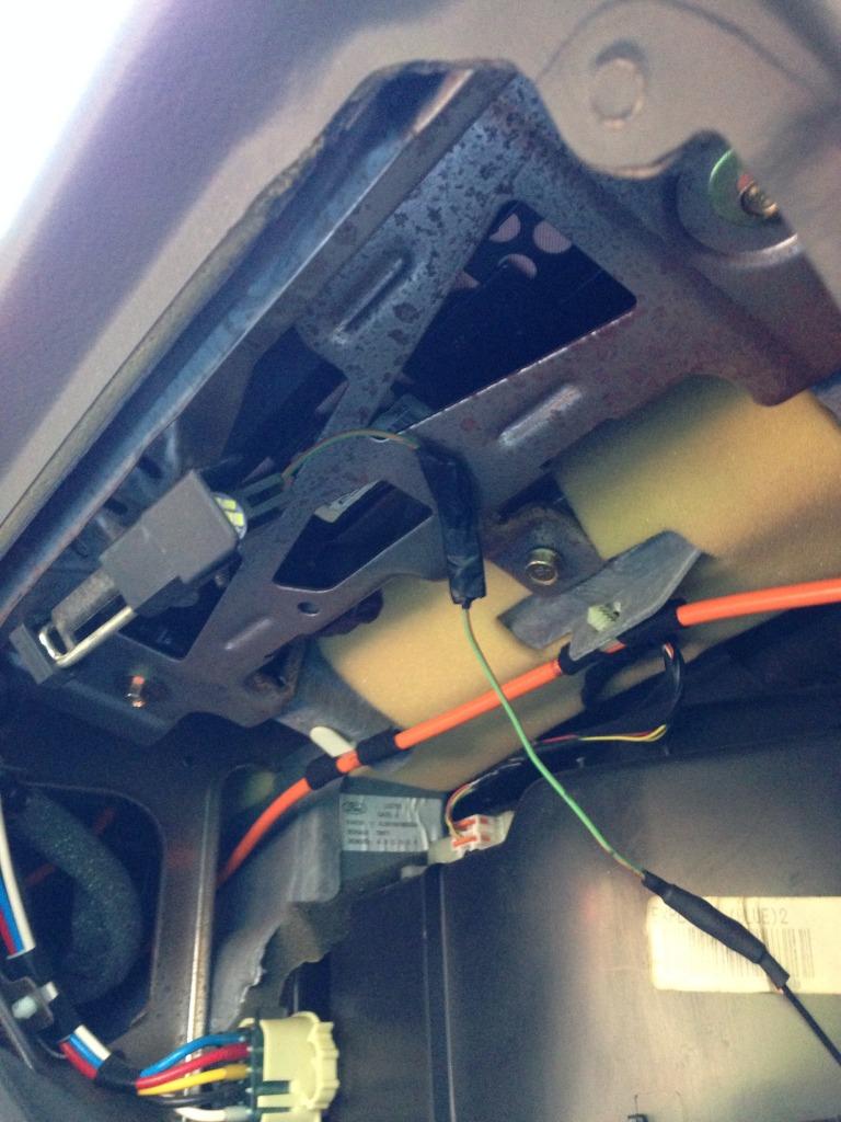 install factory glovebox lighting