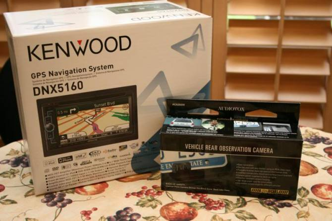 howto install a kenwood double din and audiovox rear