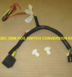 oem fog light switch conversion kit for aux lights ky rangername basicfogkit jpg views [ 1023 x 772 Pixel ]