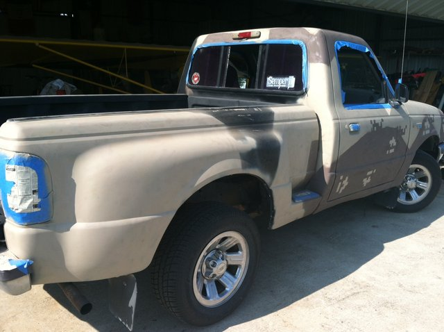 Painting the truck cheaply  RangerForums  The Ultimate