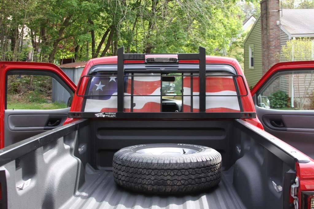 back rack on stepside ranger forums