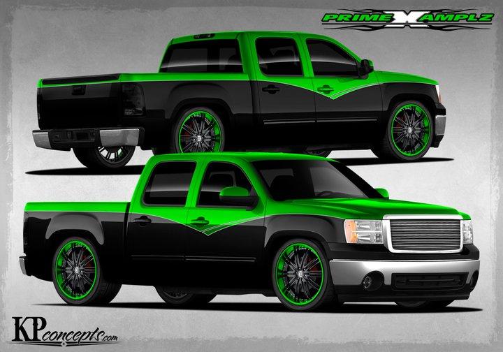 Custom Paint Colors Vehicles