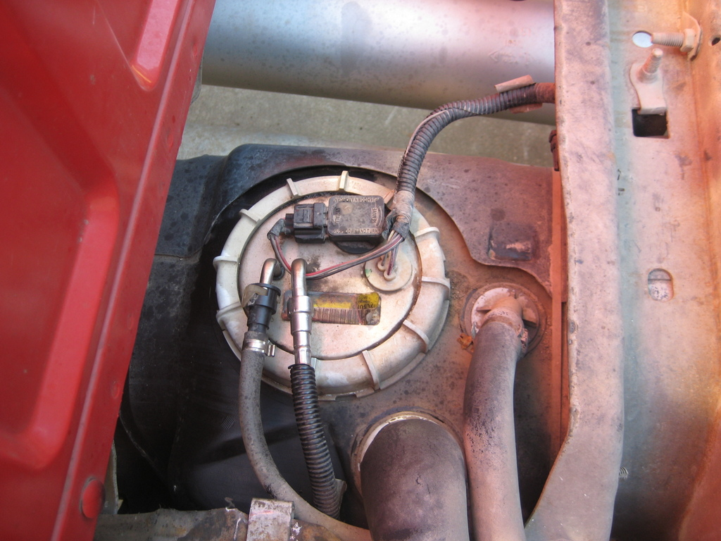 hight resolution of how to replace fuel pump