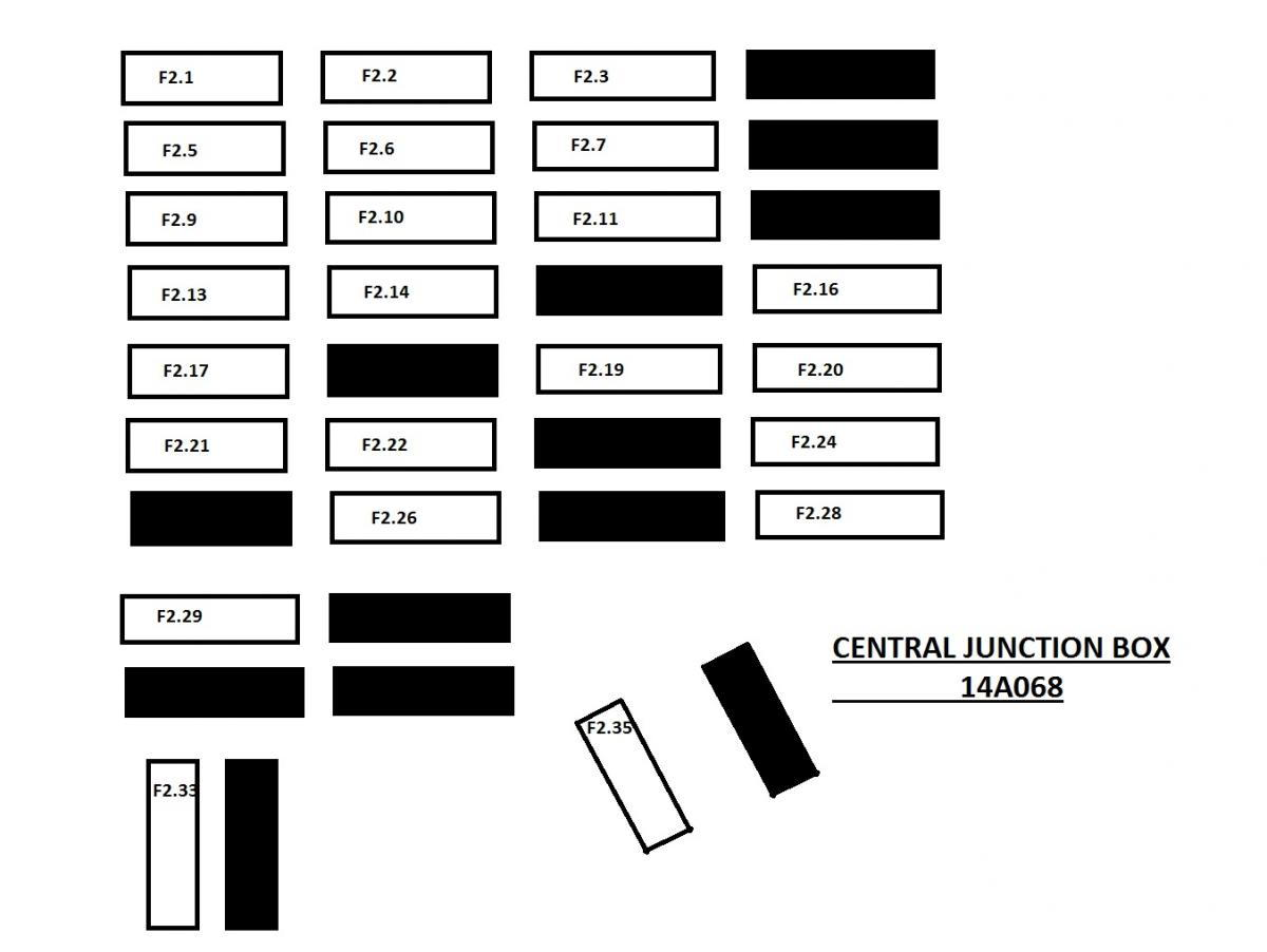 04 Ford Ranger Fuse Diagram