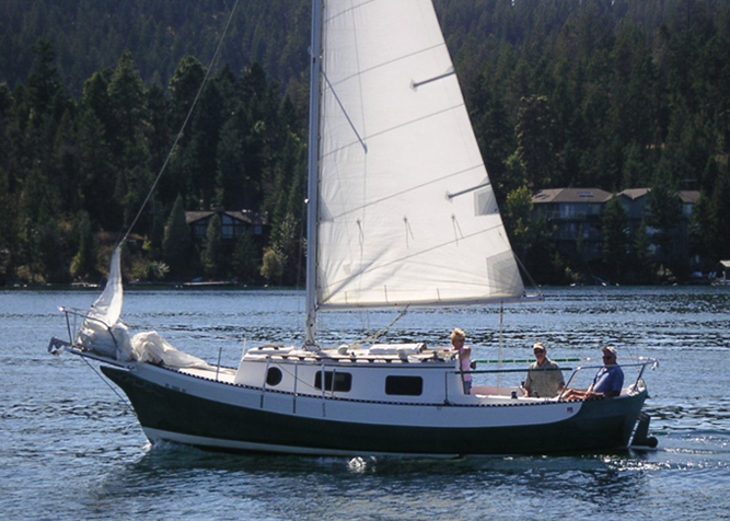Shearwater, Ranger 26 Sailboat