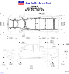 2019 ford ranger body builders layout book 04 png  [ 1600 x 1189 Pixel ]