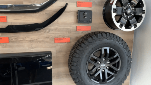 small resolution of 2019 ford ranger accessories pricing revealed