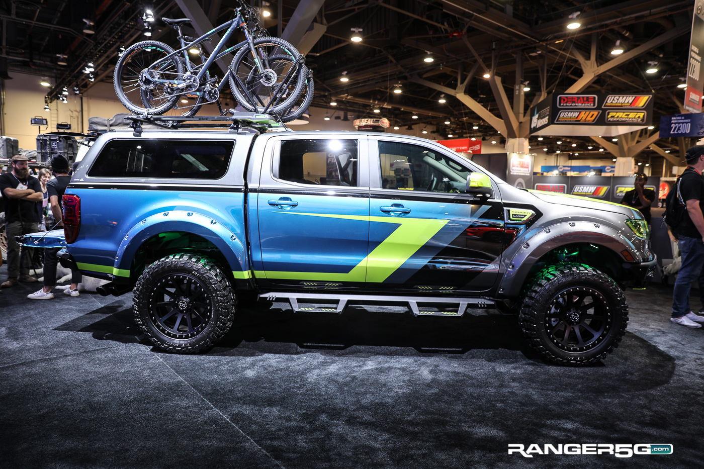 Project Nightfall 2019 Ford Ranger 2018 SEMA  R5G