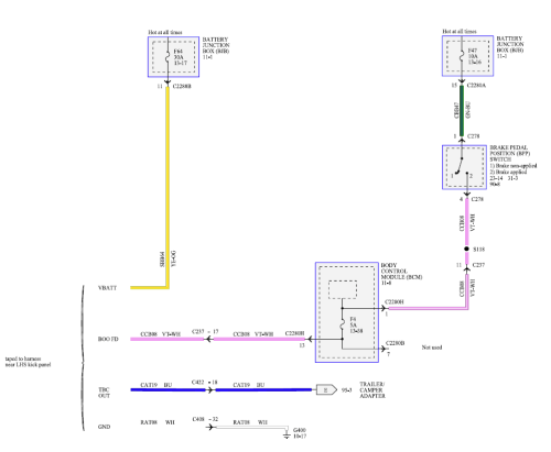 small resolution of tow wiring diagram png