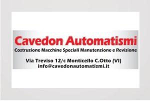 Cavedon automatismi sponsor