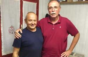 Coach Stefano Cipriani e il Presidente Augusto Fantelli