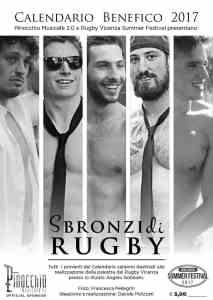 Sbronzi di Rugby - Calendario Benefico 2017