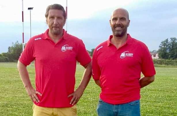 Roberto Rampazzo e Stefano Sandonnini, allenatori della Rangers Rugby Vicenza
