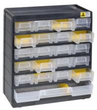 bloc tiroirs plastique 21 tiroirs pour