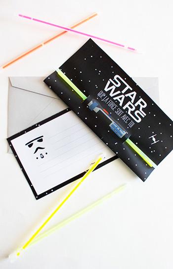 invitation-anniversaire-starwars