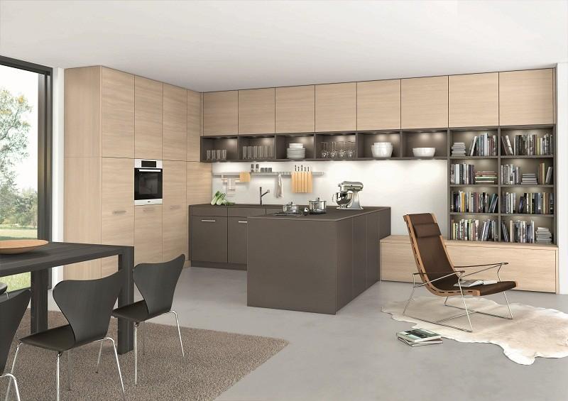 Belle cuisine ouverte sur espace sjour  ORLANDO CLASSIC