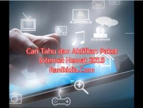 Cari Tahu dan Aktifkan Paket Internet Hemat 2018