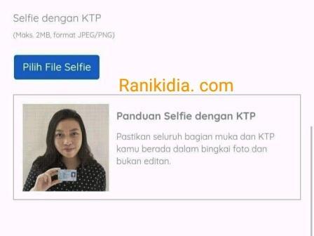 Ubah Pakai HP, Maks 2MB Foto KTP, Selfi KTP Kartu Prakerja