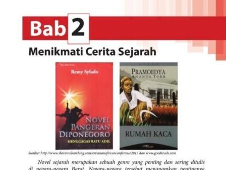 Materi Bahasa Indonesia Kelas XII SMA/SMK Menikmati Cerita Sejarah