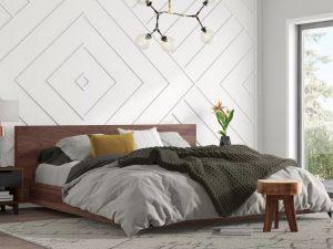 Tempat Tidur Rendah Minimalis Kayu Jati