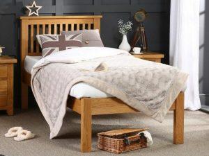 Tempat Tidur Jati Solid Single