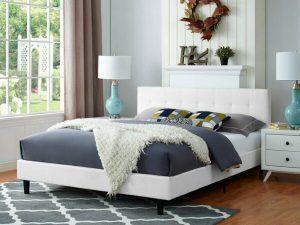 Tempat Tidur Kayu Minimalis Sinead