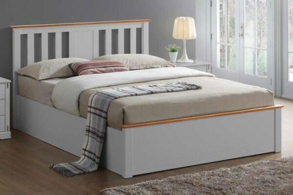 Tempat Tidur Minimalis Chester Grey