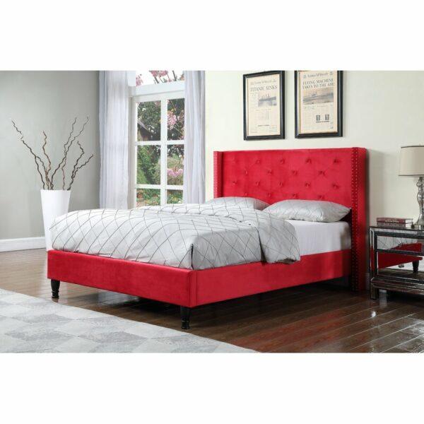 Tempat Tidur Modern Upholstered