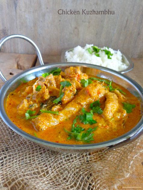 chicken kuzhambhu recipe