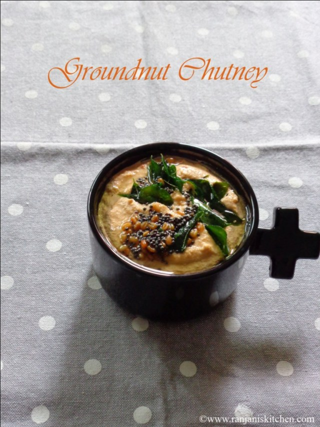 Groundnut Chutney