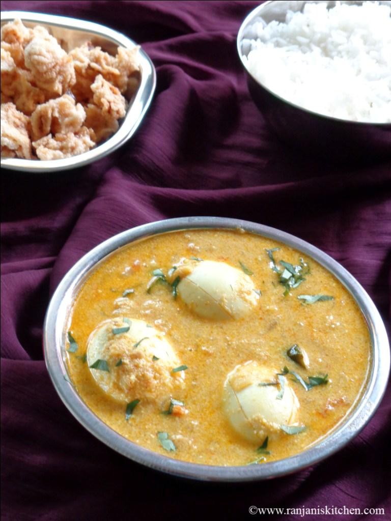 Muttai Kuzhambhu