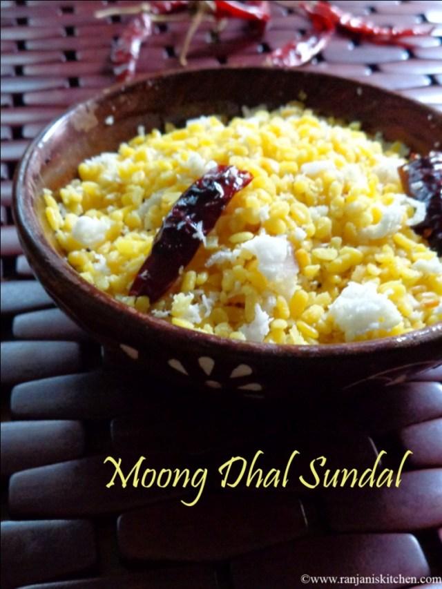 Moong Dal Sundal