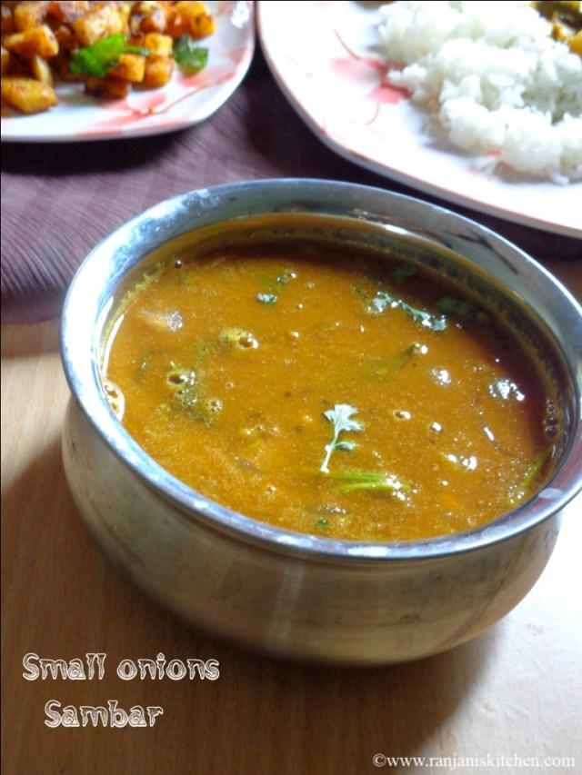 Small onions sambar
