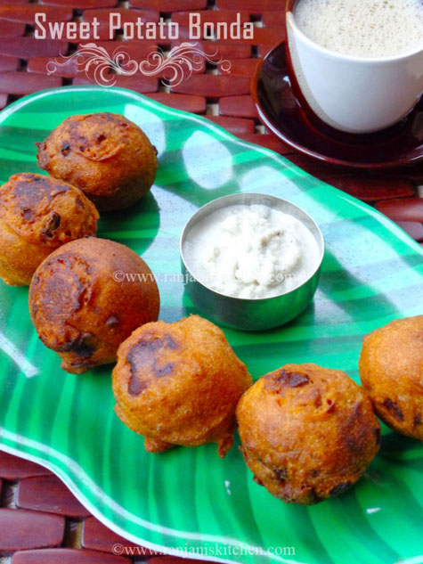 sweet potato bonda